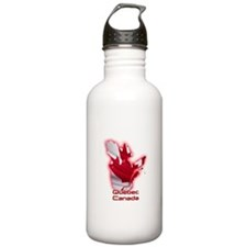 Quebec, Canada Sports Water Bottle