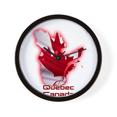 Quebec, Canada Wall Clock