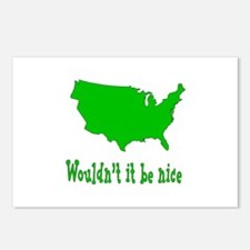 Wouldn't it be nice Postcards (Package of 8)