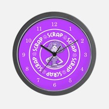 Scrap Wall Clock