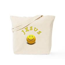 Jesus Smile Tote Bag