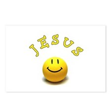 Jesus Smile Postcards (Package of 8)