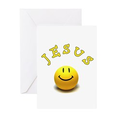 Jesus Smile Greeting Card