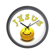 Jesus Smile Wall Clock