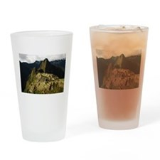 Machu Picchu Drinking Glass