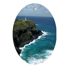 Lighthouse Ornament (Oval)