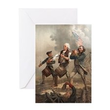 Yankee Doodle greeting card