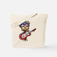 Yorkie Rocker Tote Bag