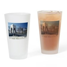 World War II Memorial Drinking Glass