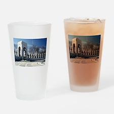 World War II Memorial Drinking Glass
