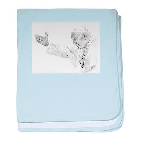 Pope John Paul II baby blanket