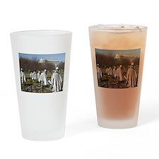 Korean War Memorial Drinking Glass