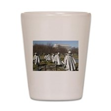Korean War Memorial Shot Glass