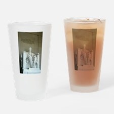 Lincoln Memorial Drinking Glass