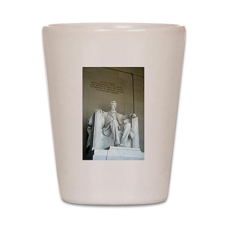 Lincoln Memorial Shot Glass