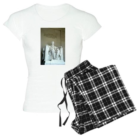 Lincoln Memorial Women's Light Pajamas