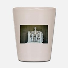 Lincoln Memorial Shot Glass