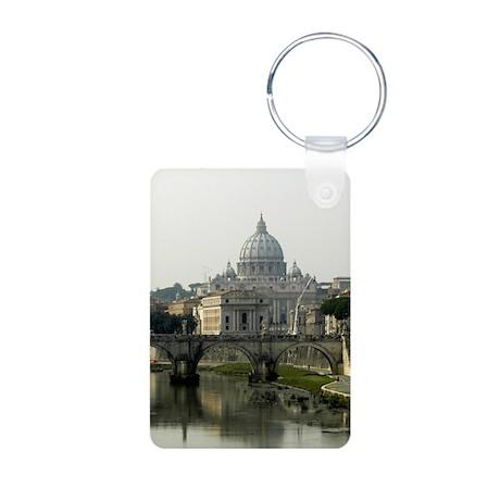 Vatican City Aluminum Photo Keychain