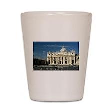St Peters Basilica Shot Glass