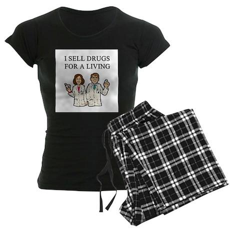 pharmacist Women's Dark Pajamas