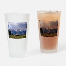 Grand Tetons National Park Drinking Glass