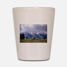 Grand Tetons National Park Shot Glass