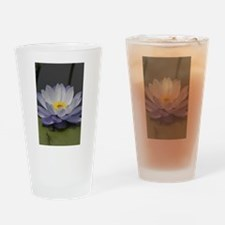 Water Lily Drinking Glass