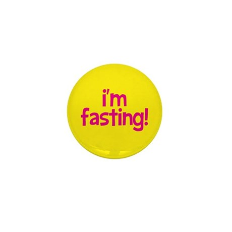 Fasting Mini Button 100 pack (pink+yellow)