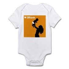 iMom Orange Mother's Day Infant Creeper