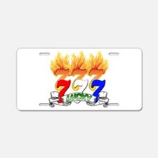 Lucky Sevens Aluminum License Plate