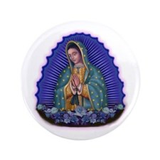 "Lady of Guadalupe T6 3.5"" Button (100 pack)"