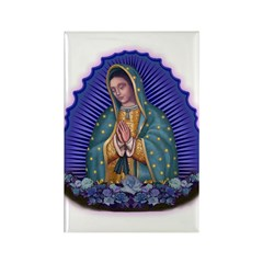 Lady of Guadalupe T6 Rectangle Magnet (10 pack)