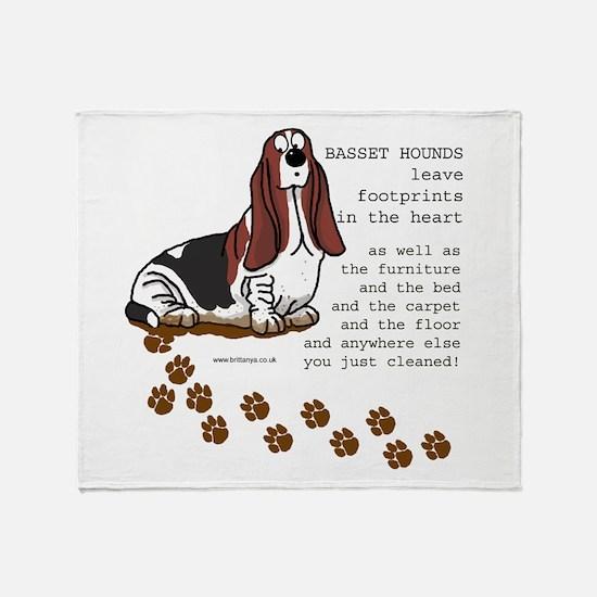 Basset's Throw Blanket