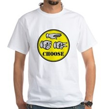 RPS: CHOOSE White T-shirt