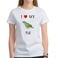 I Love My Fid (Feathered Kid) Tee