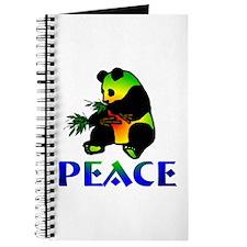 Peace Panda Bear Journal
