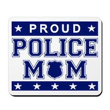 Proud Police Mom Mousepad