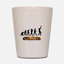 Basketball Evolution Shot Glass
