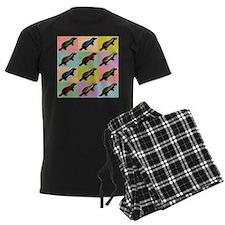 Honey Badger Pop Art Pajamas