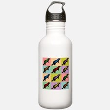 Honey Badger Pop Art Water Bottle