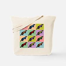 Honey Badger Pop Art Tote Bag