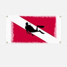 Scuba Diving Flag Banner
