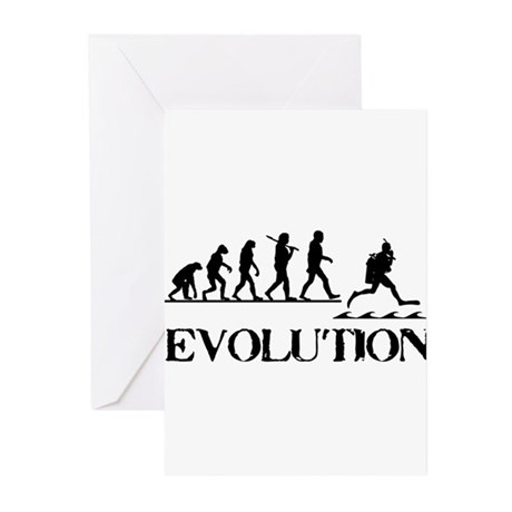 Scuba Evolution Greeting Cards (Pk of 20)