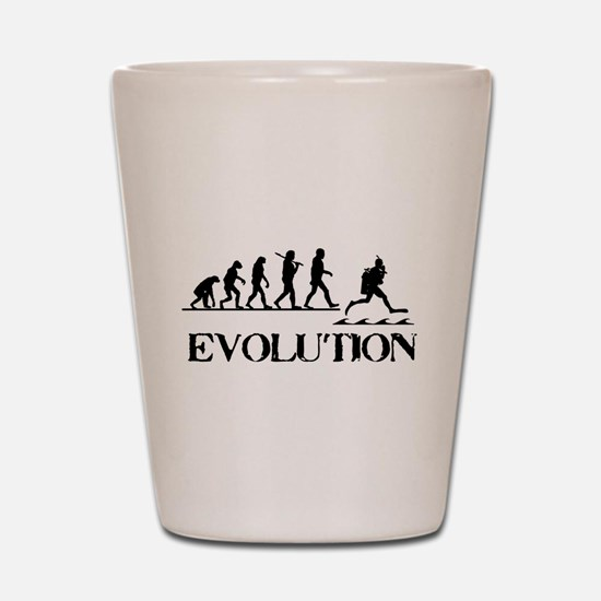 Scuba Evolution Shot Glass