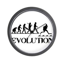 Scuba Evolution Wall Clock