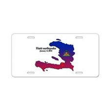 Haiti Relief 2010 Aluminum License Plate