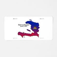 Haiti Relief 2010 Aluminum License Plate