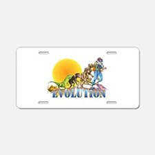 Scuba Evolution Aluminum License Plate