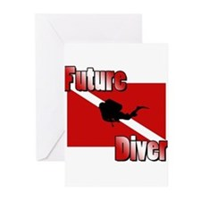 Future Diver Greeting Cards (Pk of 20)