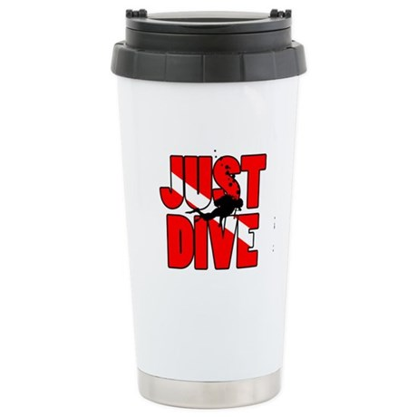 Just Dive Stainless Steel Travel Mug